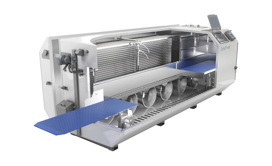 Флюидизационный скороморозильный аппарат