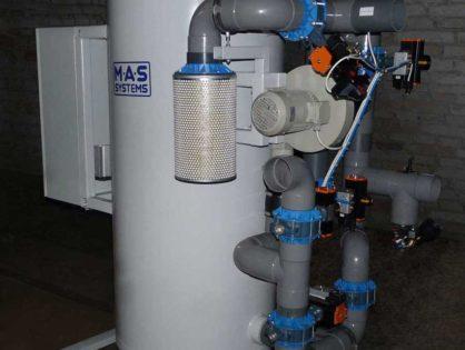 Скруббер (адсорбер) углекислого газа MAS-АСО2-300 производства МАС Системз отправлен к Заказчику